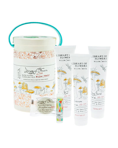 Willow & Water Field Bath Goods Sampling Kit