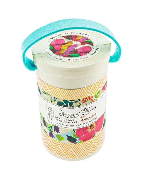 Arboretum Field Bath Goods Sampling Kit
