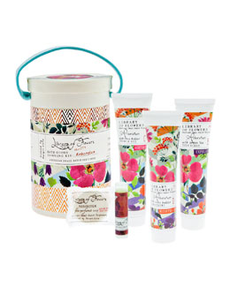 Library of Flowers Arboretum Field Bath Goods Sampling Kit