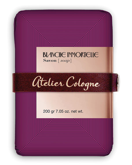 Atelier Cologne Blanche Immortelle Soap, 7.04 oz. net.