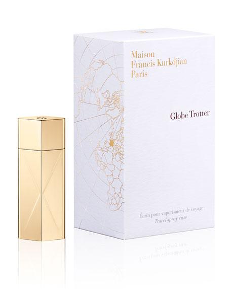 Globe Trotter Golden Travel spray case, 11 mL