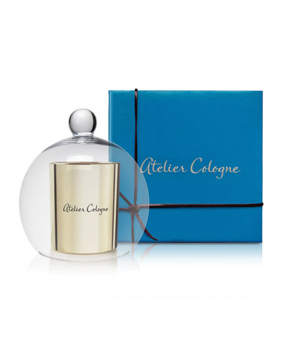 Atelier Cologne Santal Carmin Candle & Cloche Set