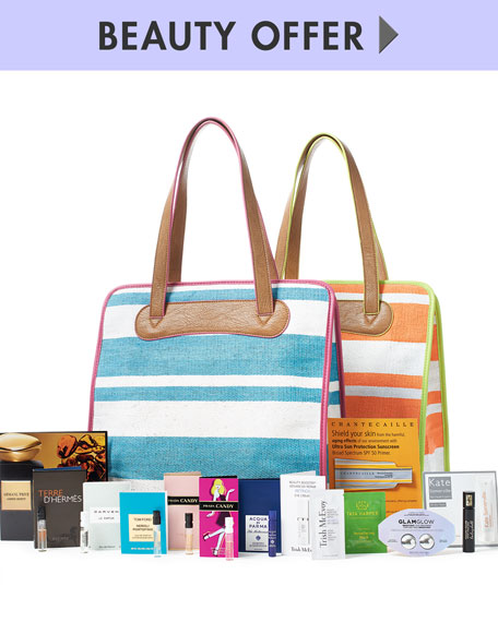 Yours with any $100 Cosmetics or Fragrance Purchase
