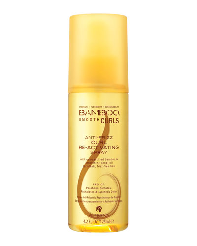 Bamboo Smooth Curls Anti-Frizz Curl Re-activating Spray, 4.2 fl. oz.