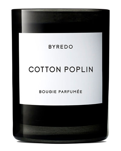 Cotton Poplin Bougie Parfumee Scented Candle, 240g