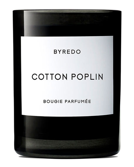 Byredo Cotton Poplin Bougie Parfumee Scented Candle, 240g