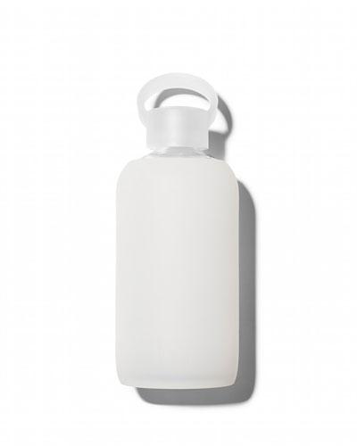 Glass Water Bottle, Milk, 500 mL