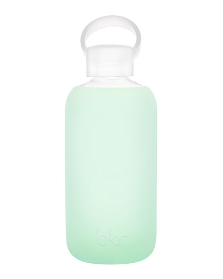 Glass Water Bottle, Chip, 500 mL