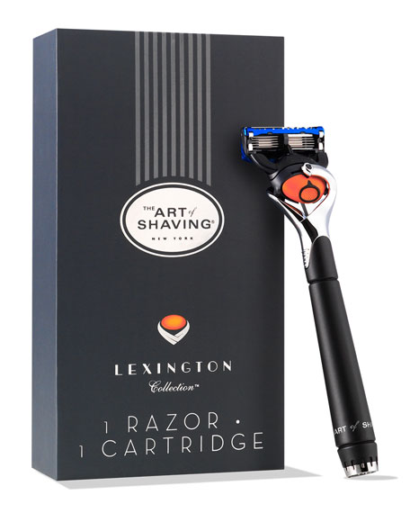 The Art Of Shaving Lexington Fusion Razor Neiman Marcus
