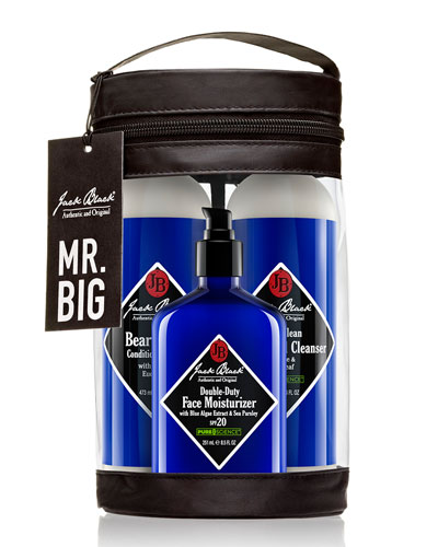 Jack Black Mr. Big Men's Skin Care Set