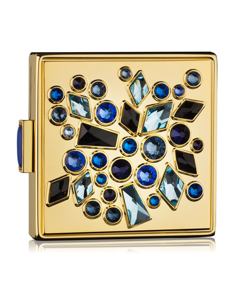 Limited Edition Sapphire Sparklers Powder Compact