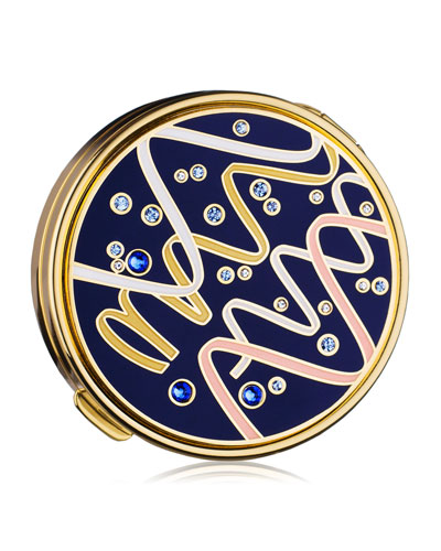 Estee Lauder Limited Edition Gleaming Streamers Powder Compact