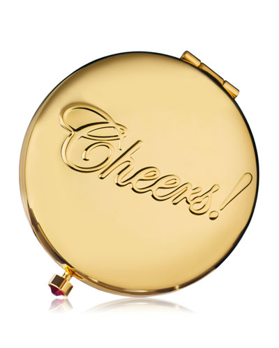 Estee Lauder Limited Edition Golden Celebration Powder Compact