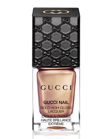 Gucci Bold High-Gloss Lacquer, Metallic Sand, 10 mL