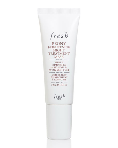 Peony Brightening Night Treatment Mask, 1.6 oz.