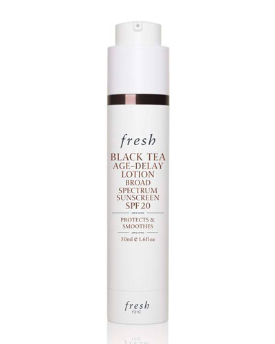 Fresh Black Tea Age-Delay Lotion Broad Spectrum Sunscreen SPF 20, 50 mL