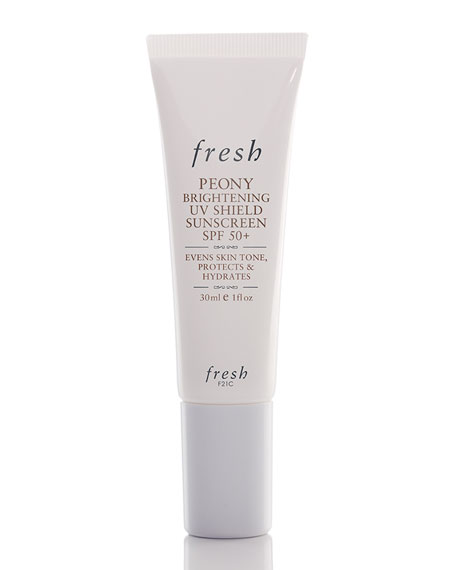 Fresh Peony Brightening UV Shield Sunscreen SPF 50+,