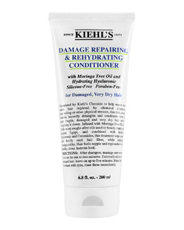 Kiehl's Since 1851 Damage Repairing & Rehydrating Conditioner for Damaged, Very Dry Hair, 6.8 fl. oz.