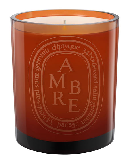 Scented Candle Amber, 10.6 oz.