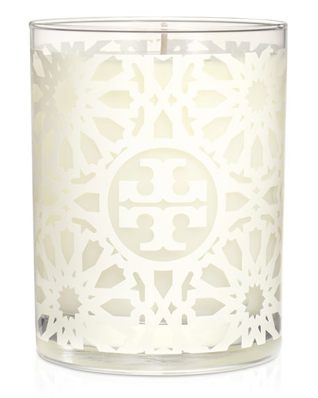 Tory Burch Tory Burch Tile-Print Scented Candle