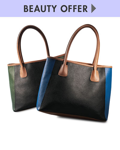 Neiman Marcus Tote and Beauty Samples yours with any $125 Beauty purchase
