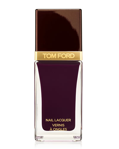Nail Lacquer, Black Cherry, 0.41 oz.