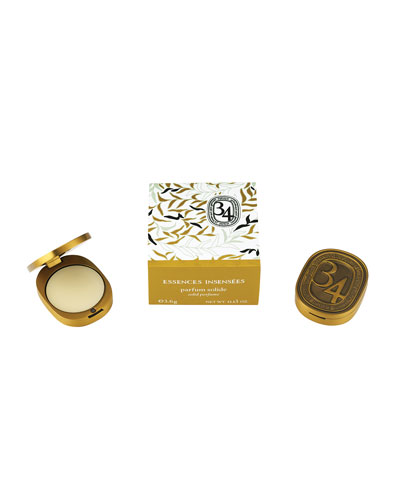 Diptyque 34 Essences Solide Perfume, 3.6g