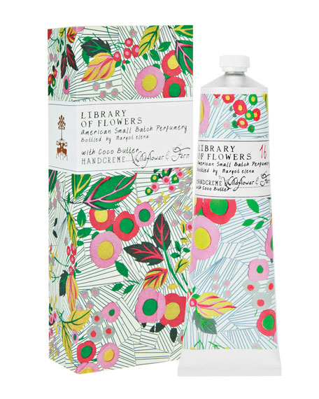Library of Flowers Wildflower & Fern Handcreme, 2.3
