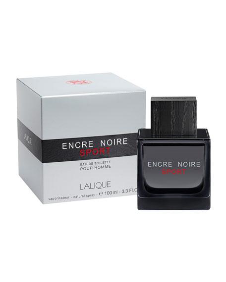 Lalique Encre Noire Sport Eau de Toilette, 3.3