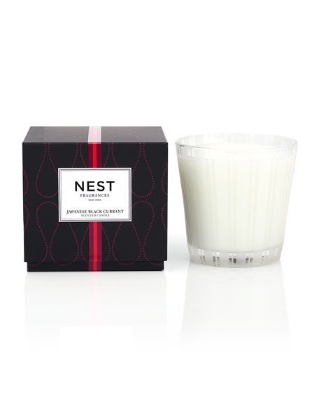 Nest Fragrances Japanese Black Currant 3-Wick Candle, 22.7