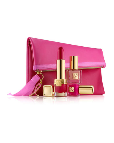 Estee Lauder LIMITED EDITION Evelyn Lauder and Elizabeth Hurley Dream Lip Collection