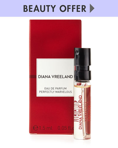 Diana Vreeland Parfums Yours with any $185 Diana Vreeland Parfums purchase