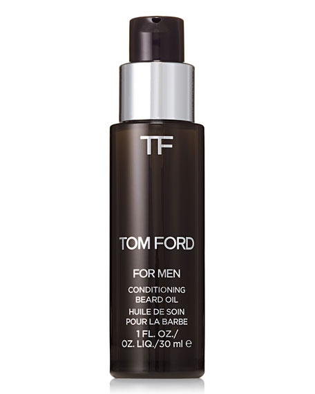 TOM FORD Conditioning Beard Oil, Oud Wood, 1.0