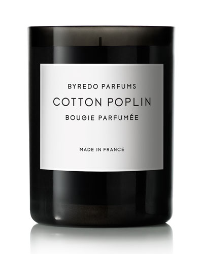 Cotton Poplin Candle, 70g