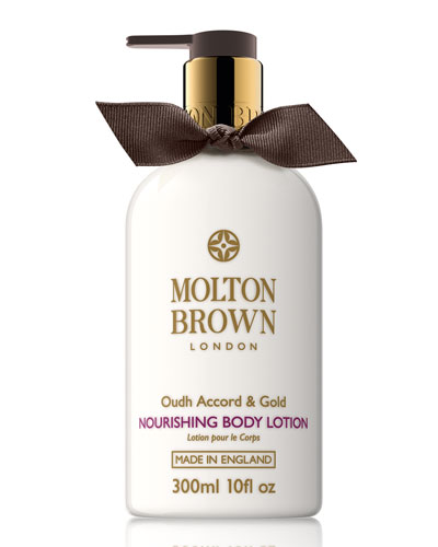 Oudh Accord & Gold Body Lotion, 10 oz.
