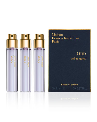 OUD velvet mood Spray, 3 Refills, 0.37 oz. each