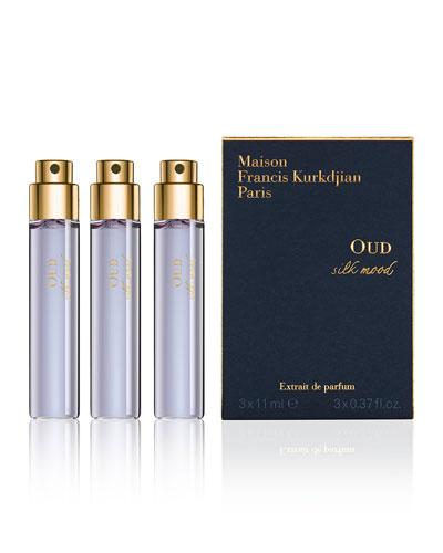 OUD silk mood Eau de Parfum Spray Refills, 3 x 0.37 oz./ 11 mL