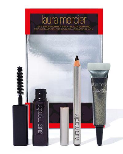 Laura Mercier LIMITED EDITION Eye Transformer Trio, Black Diamond