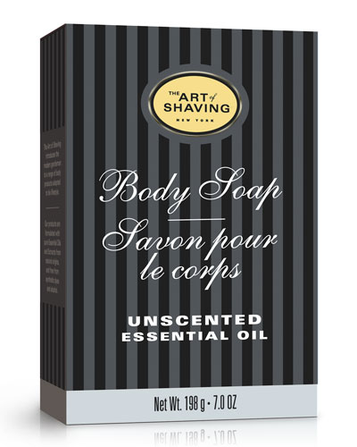 The Art of Shaving Unscented Body Soap, 7 oz.