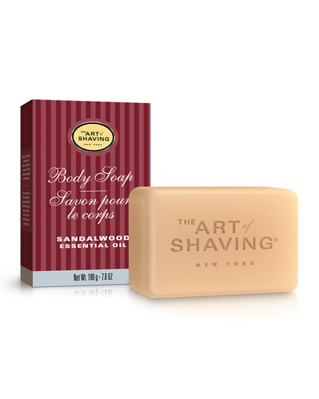 The Art of Shaving Sandalwood Body Soap, 7 oz.