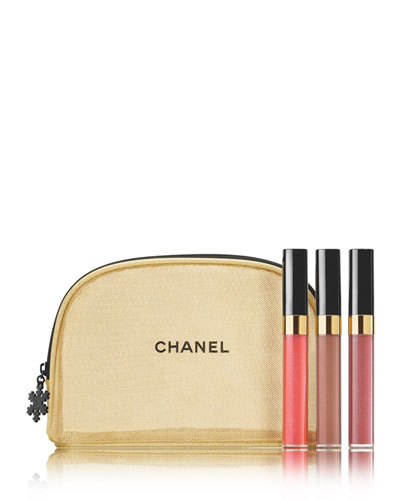 CHANEL <b>GIVE IT SHINE</b> <br>Glossimer Trio Set - Limited Edition