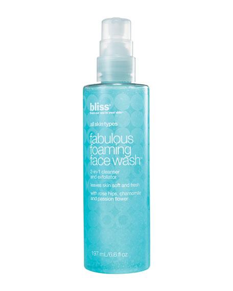 Fabulous Foaming Face Wash, 6.6 oz.