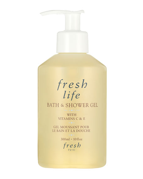Fresh Life Bath and Shower Gel, 10.15 oz.