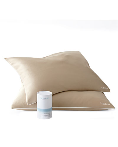 2 iluminage Skin Rejuvenating Pillowcases