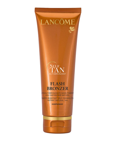 Lancome FLASH BRONZER Tinted Self-Tanning Body Gel with