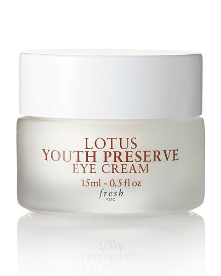 Fresh Lotus Youth Preserve Eye Cream, 15 mL
