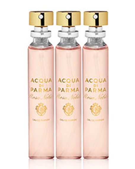 Acqua Nobile Rosa Purse Spray Refill, 3 X 0.68 oz./ 20 mL