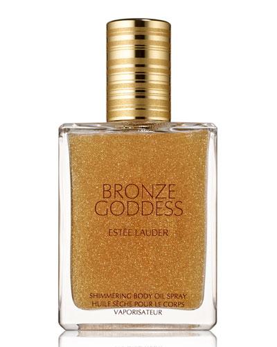 Limited Edition Bronze Goddess Shimmering Body Oil Spray, 1.7 oz.