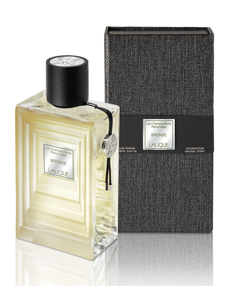 Lalique Les Compositions Parfumees Bronze, 3.4 oz./ 100 mL