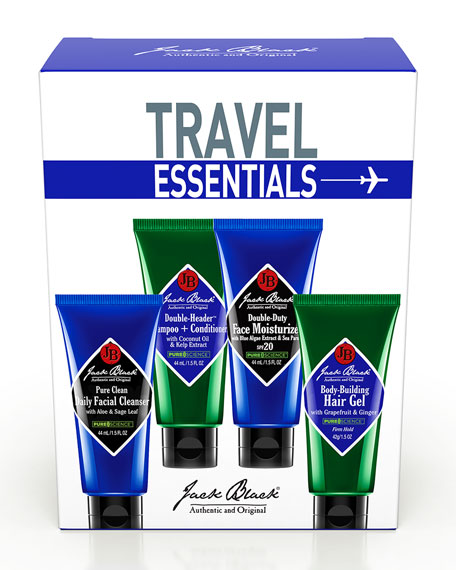 Jack Black Travel Essentials Set